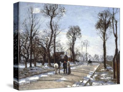 Road to  Versailles at Louveciennes: Winter and Snow