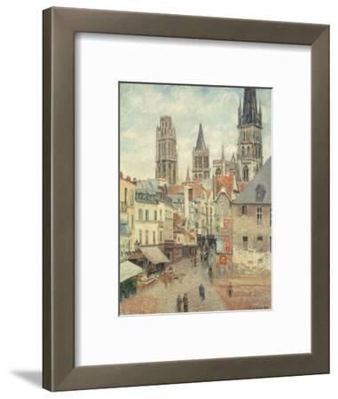 Rue De L'Epicerie at Rouen, on a Grey Morning, 1898