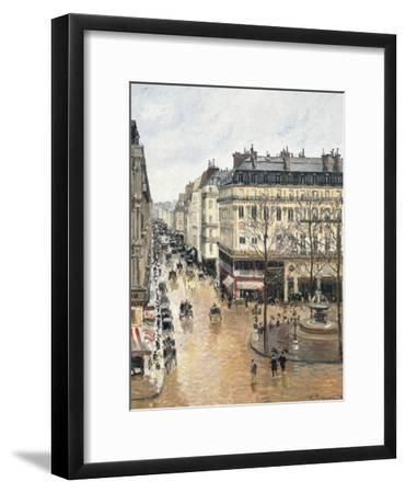 Rue Saint-Honoré in the Afternoon, Effect of Rain, 1897