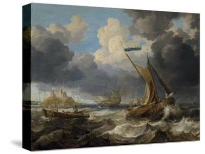 Sea Scene, 1640 by Camille Pissarro