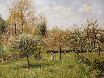 Spring at Eragny by Camille Pissarro