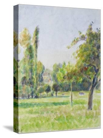 Study of the Orchard of the Artist's House at Eragny-Sur-Epte, C. 1890