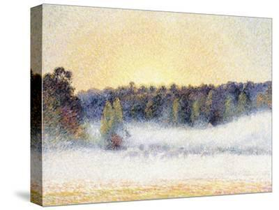 Sunset and Mist at Eragny, 1891