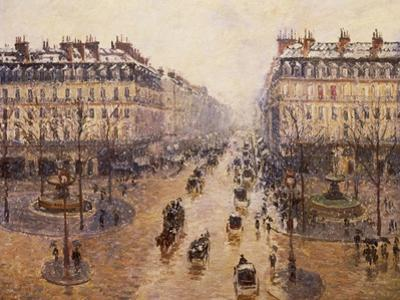 The Avenue De L'Opera, Paris, 1880