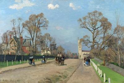 The Avenue, Sydenham, 1871 by Camille Pissarro