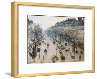 The Boulevard Montmartre on a Winter Morning, 1897