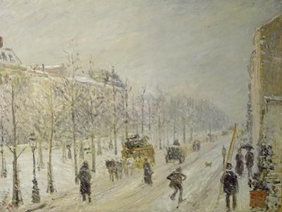 The Boulevards under Snow