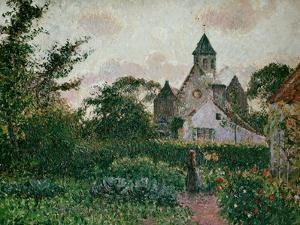 The Church in Knocke, 1894 by Camille Pissarro