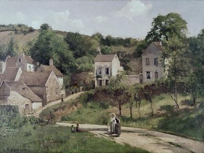 The Hermitage at Pontoise, C.1867