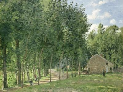 The House in the Forest, 1872 by Camille Pissarro