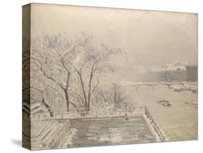 The Louvre under Snow, 1902