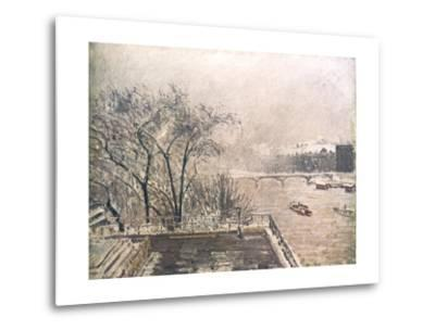 The Louvre under Snow, 1902