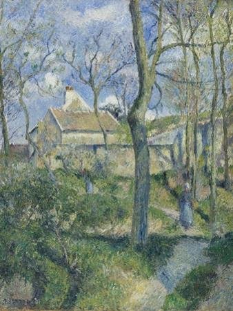 The Path to Les Pouilleux, Pontoise, 1881 by Camille Pissarro