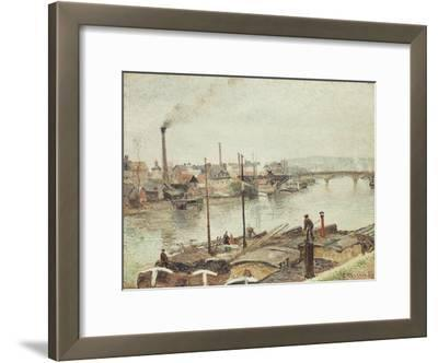 The Port of Rouen, 1883