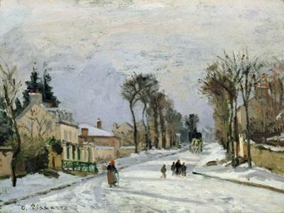The Versailles Road at Louveciennes, 1869