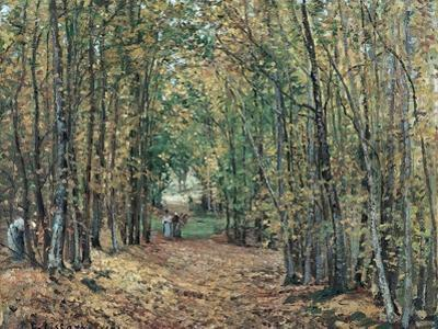 The Woods at Marly, 1871 by Camille Pissarro