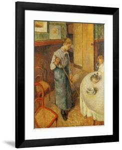 The Young Maid, 1882 by Camille Pissarro