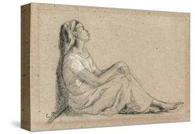 Young Negro Woman Sitting, 1855-7
