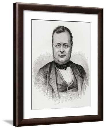 Camillo Benso, from 'Europe in the Nineteenth Century: an Outline History, Published in 1916--Framed Giclee Print