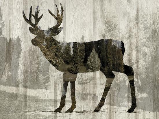 Camouflage Animals - Deer-Tania Bello-Giclee Print