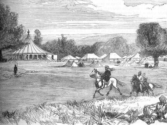 'Camp of Ameer Yakoub Khan, Gundamuk', c1880-Unknown-Giclee Print
