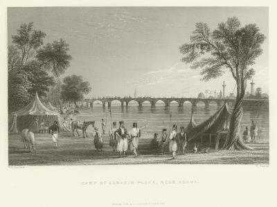 Camp of Ibrahim Pasha, Near Adana, Turkey, 1837--Giclee Print