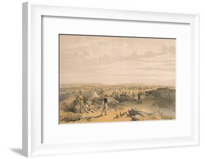 'Camp of the 4th Division', 1856-George Brackenbury-Framed Giclee Print