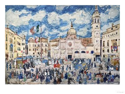 Camp Santa Maria Formosa, Venice, Circa 1898-Henry Alexander-Giclee Print