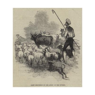 Camp Shepherd of the Army of the Sutlej--Giclee Print