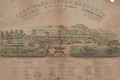 Camp Washington, Easton, Pa-Max Rosenthal-Giclee Print