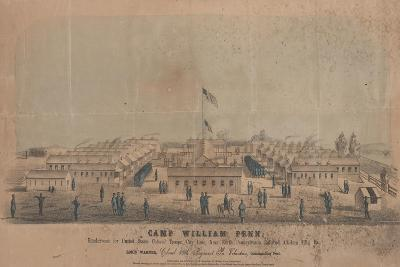 Camp William Penn, C.1864-Louis N. Rosenthal-Giclee Print