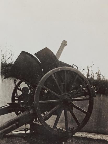 Campagna Di Guerra 1915-1916-1917-1918: Anti-Aircraft Gun Position  Photographic Print by | Art com