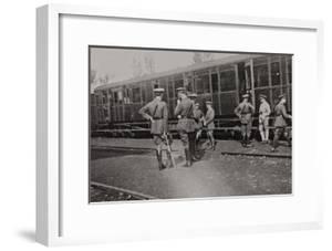 Campagna Di Guerra 1915-1916-1917-1918: Departure of the British Battalion from Cervignano