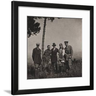 Campagna Di Guerra 1915-1916-1917-1918: Group Portrait--Framed Photographic Print