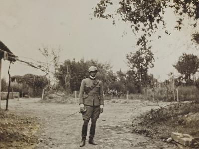 Campagna Di Guerra 1915-1916-1917-1918: Portrait of Jack Bosio in Santo Stefano--Photographic Print