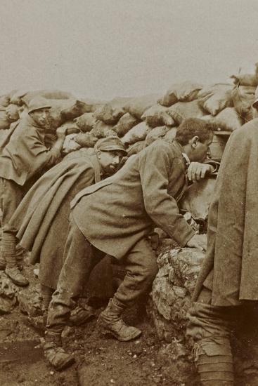 Campagna Di Guerra 1915-1916-1917-1918: Trenches in Santo Stefano--Photographic Print