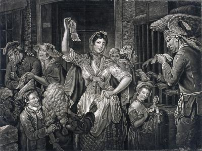 Campaign at Fleet Prison, London, C1770--Giclee Print