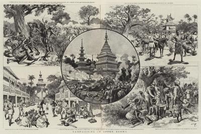 Campaigning in Upper Burma-Adrien Emmanuel Marie-Giclee Print