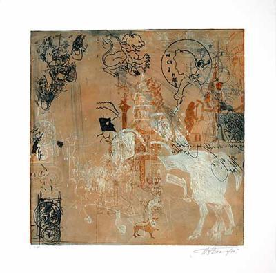 Campanile, c.2002-Hassan Hashemi-Limited Edition