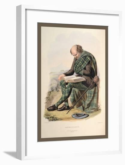 Campbell of Argyle-R.r. Mcian-Framed Art Print