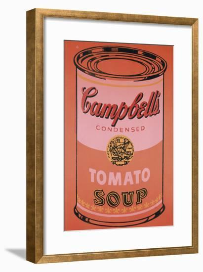Campbell's Soup Can, c.1965 (Orange)-Andy Warhol-Framed Giclee Print