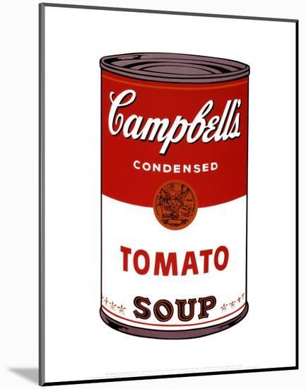 Campbell's Soup I, 1968-Andy Warhol-Mounted Art Print