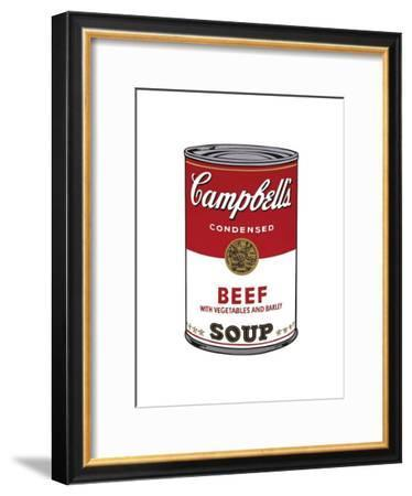 Campbell's Soup I: Beef, c.1968-Andy Warhol-Framed Giclee Print