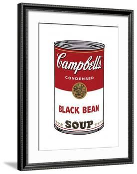 Campbell's Soup I: Black Bean, c.1968-Andy Warhol-Framed Giclee Print