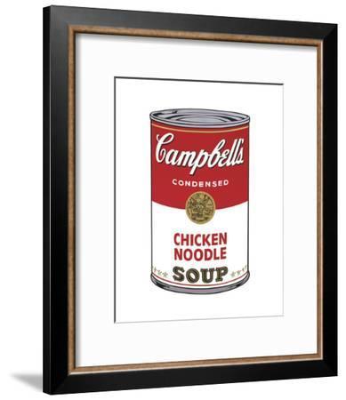 Campbell's Soup I: Chicken Noodle, 1968-Andy Warhol-Framed Art Print
