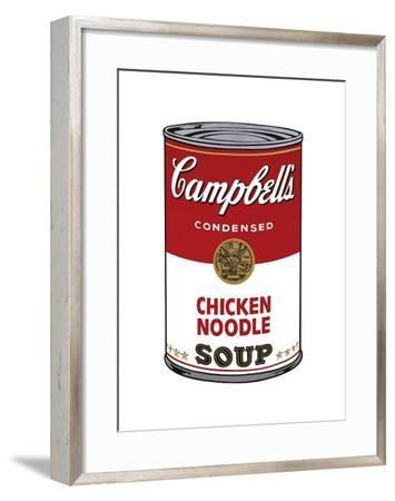 Campbell's Soup I: Chicken Noodle, c.1968-Andy Warhol-Framed Giclee Print
