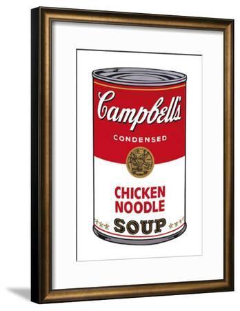 Campbell's Soup I: Chicken Noodle, c.1968-Andy Warhol-Framed Art Print