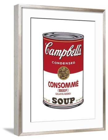 Campbell's Soup I: Consomme, c.1968-Andy Warhol-Framed Giclee Print