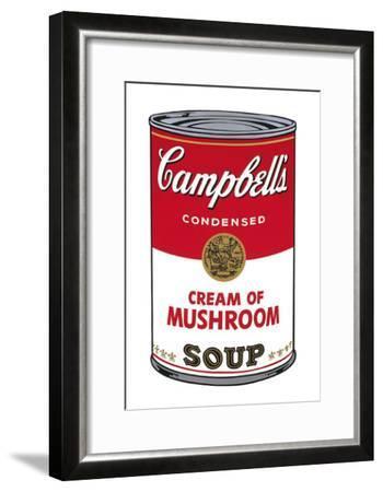 Campbell's Soup I: Cream of Mushroom, c.1968-Andy Warhol-Framed Art Print