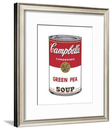 Campbell's Soup I: Green Pea, 1968-Andy Warhol-Framed Art Print